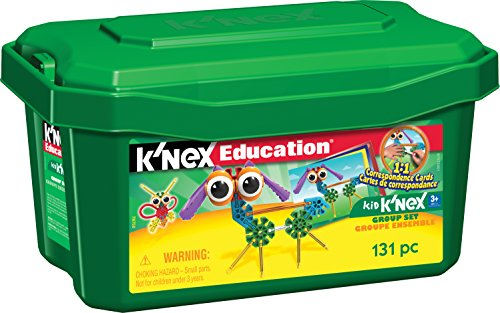 K'NEX Education – Kid K'NEX Group Building Set – 131 Pieces – Ages 3+ – Preschool Educational Toy