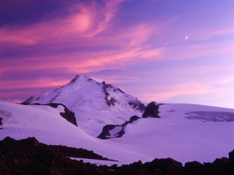 During the 1998-99 snowfall season, snow fell a reported 1,140 inches over the Mount Baker in North Cascades, Washington States. The Baker is 3285 meters or 10,775 feet from the sea level.