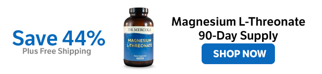 Save 44% on a Magnesium L-Threonate 90-Day Supply