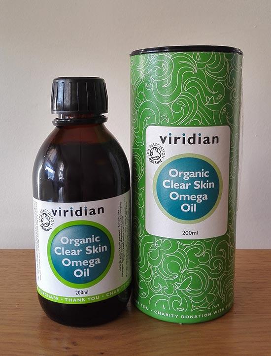 Viridian Clear Skin Omega oil