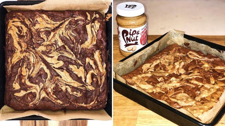 Georgia May Salamat Pip and Nut brownies recipe
