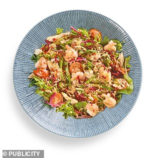 Wagamamas Pad Thai Salad has plenty of lean protein, Ms Thornton-Wood said