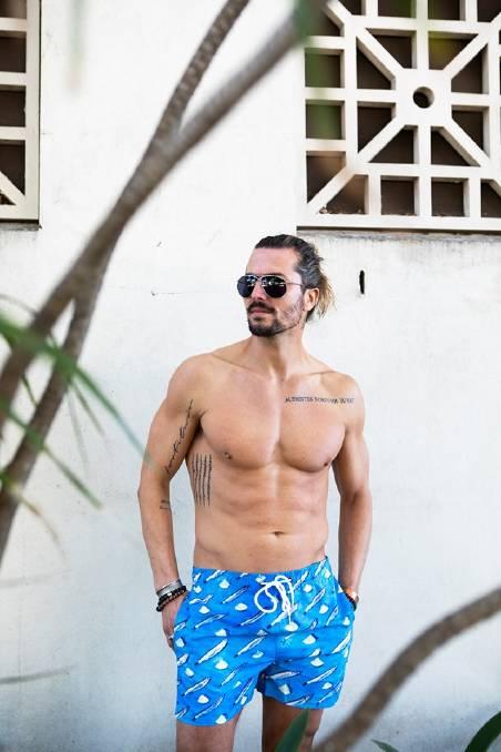 The Sol men's swim shorts. Picture: Vanessa Verchiani