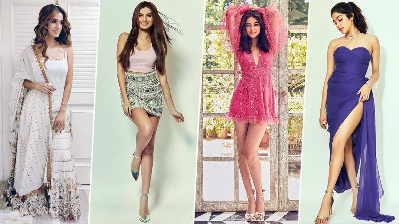Disha Patani, Janhvi Kapoor and Ananya Panday's Fashion Choices Grab all the Eyeballs this Week (View Pics)