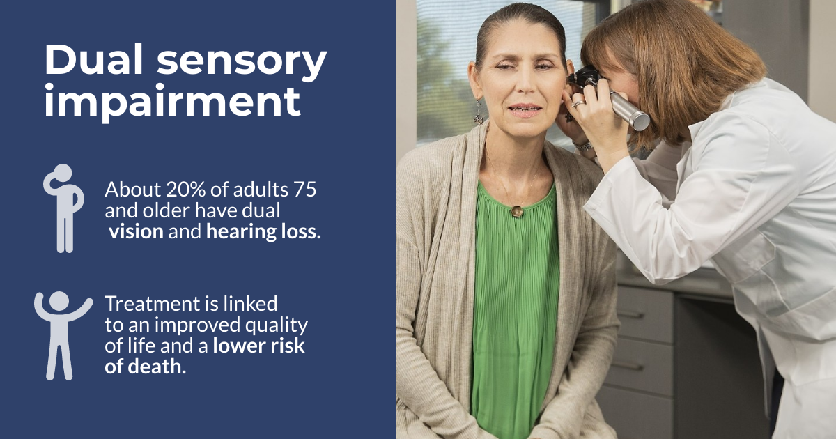 Facts about dual sensory impairment