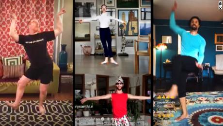 Stuck at home? Learn to dance from the best