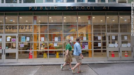 Here's where major cities stand on reopening schools