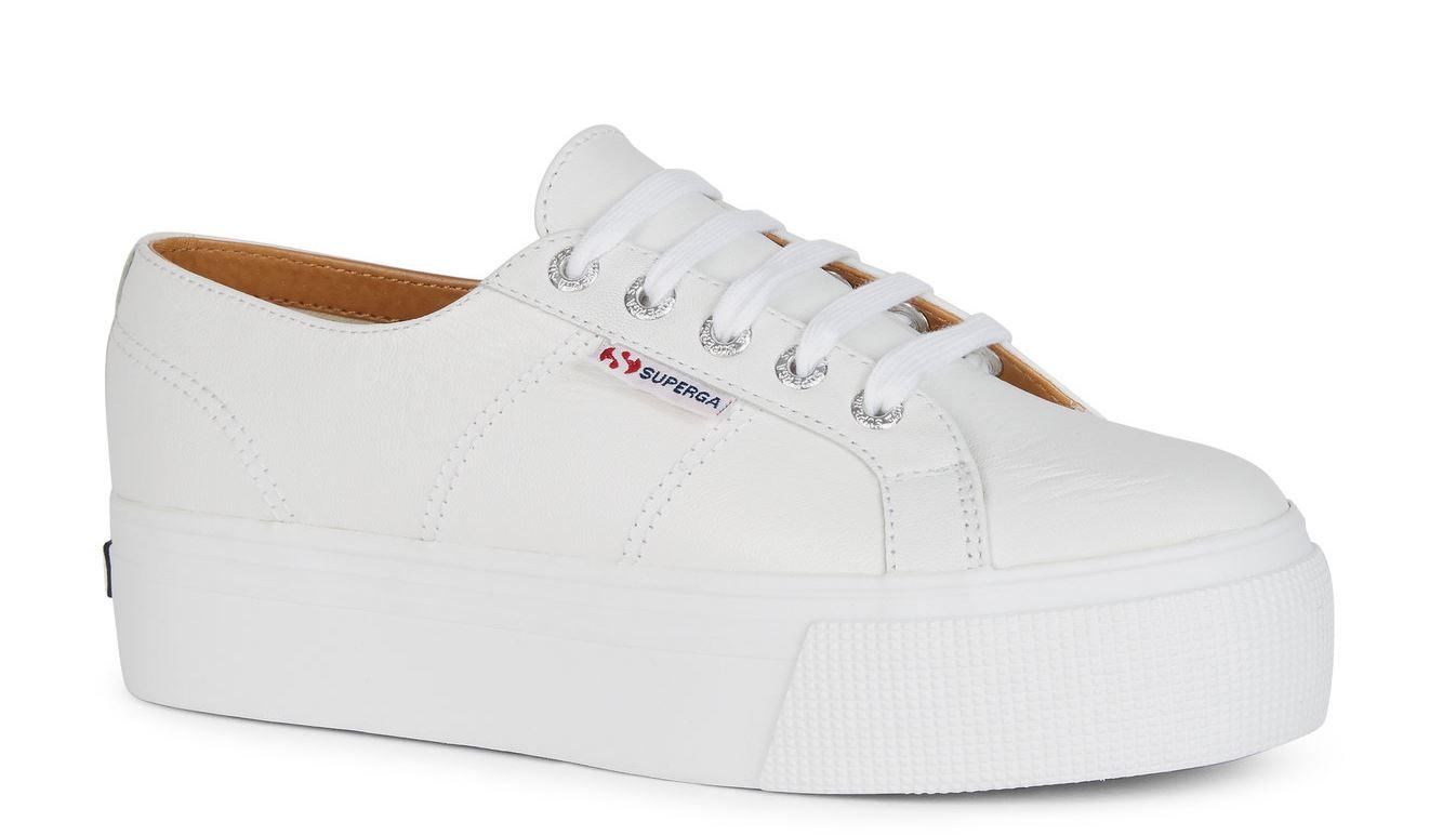 superga white platform Your summer wardrobe sorted