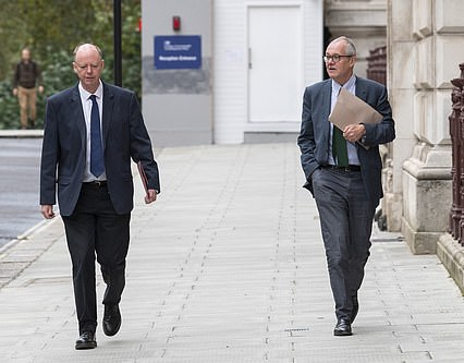 There are claims Patrick Vallance and Chris Whitty, who oversee SAGE, dictated the timing of the minutes disclosure