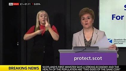 At her daily briefing today, Nicola Sturgeon hailed bombshell ministers showing the PM has been defying the government's own experts for weeks